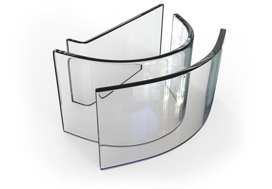 Обработка стекла: моллирование стекла