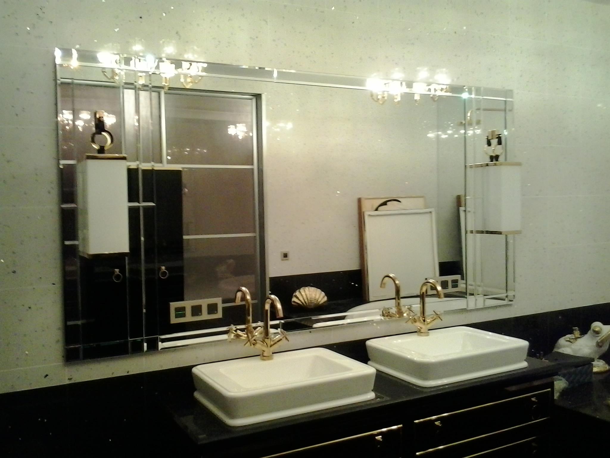 Зеркала для ванной комнаты на заказ